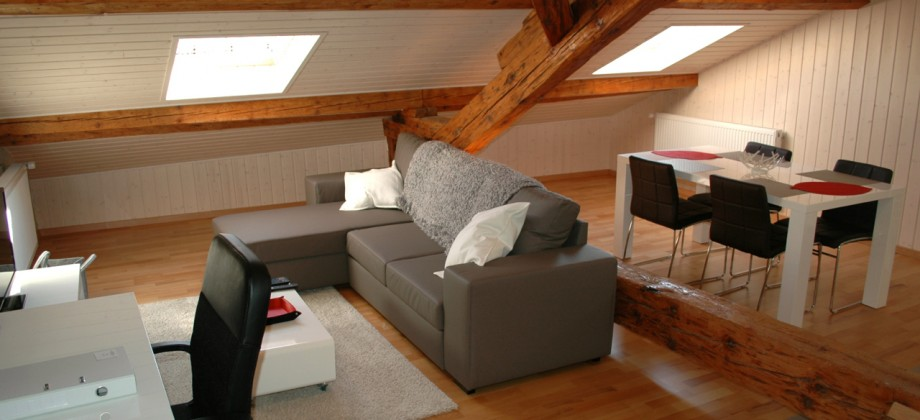 Aubonne:  3rd Floor Loft, Rue du Chêne 21, 1170
