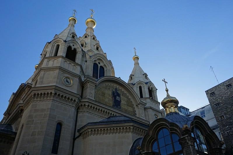 Paris Cathédrale Saint-Alexandre-Nevsky