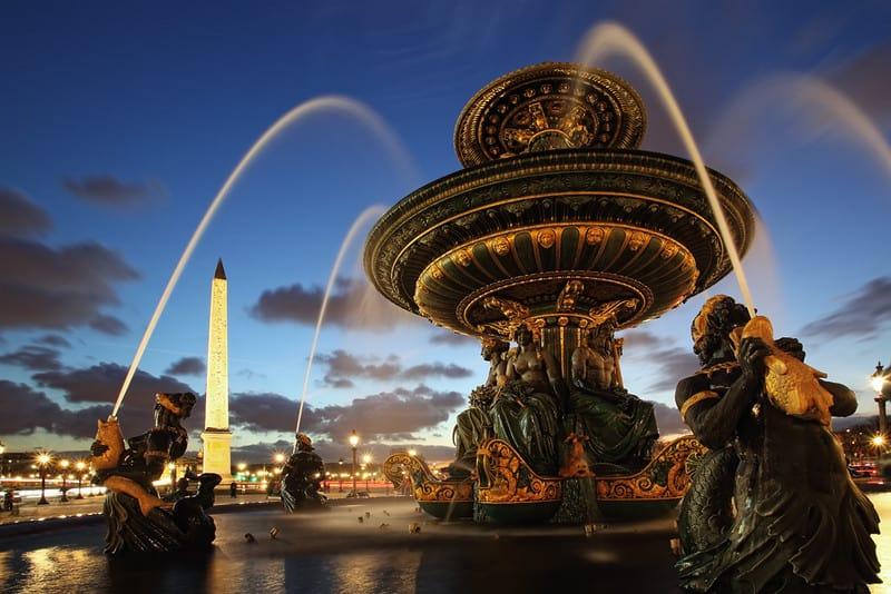 Fontaine de la place Concorde à Paris