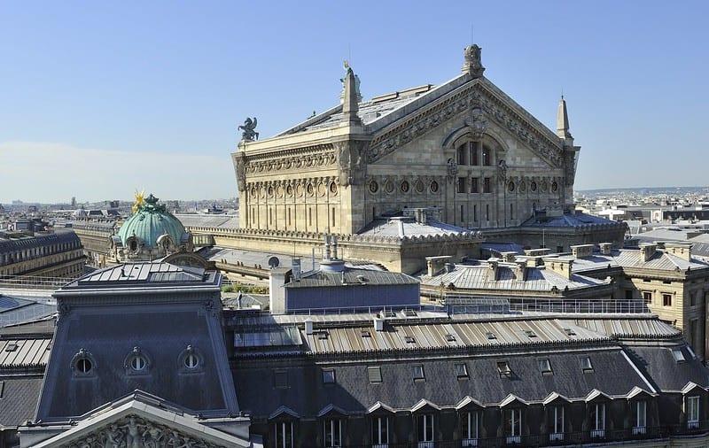Opéra Garnier à Paris 9ème