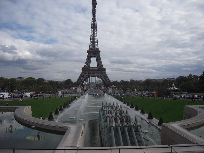 Eiffel tower paris 16